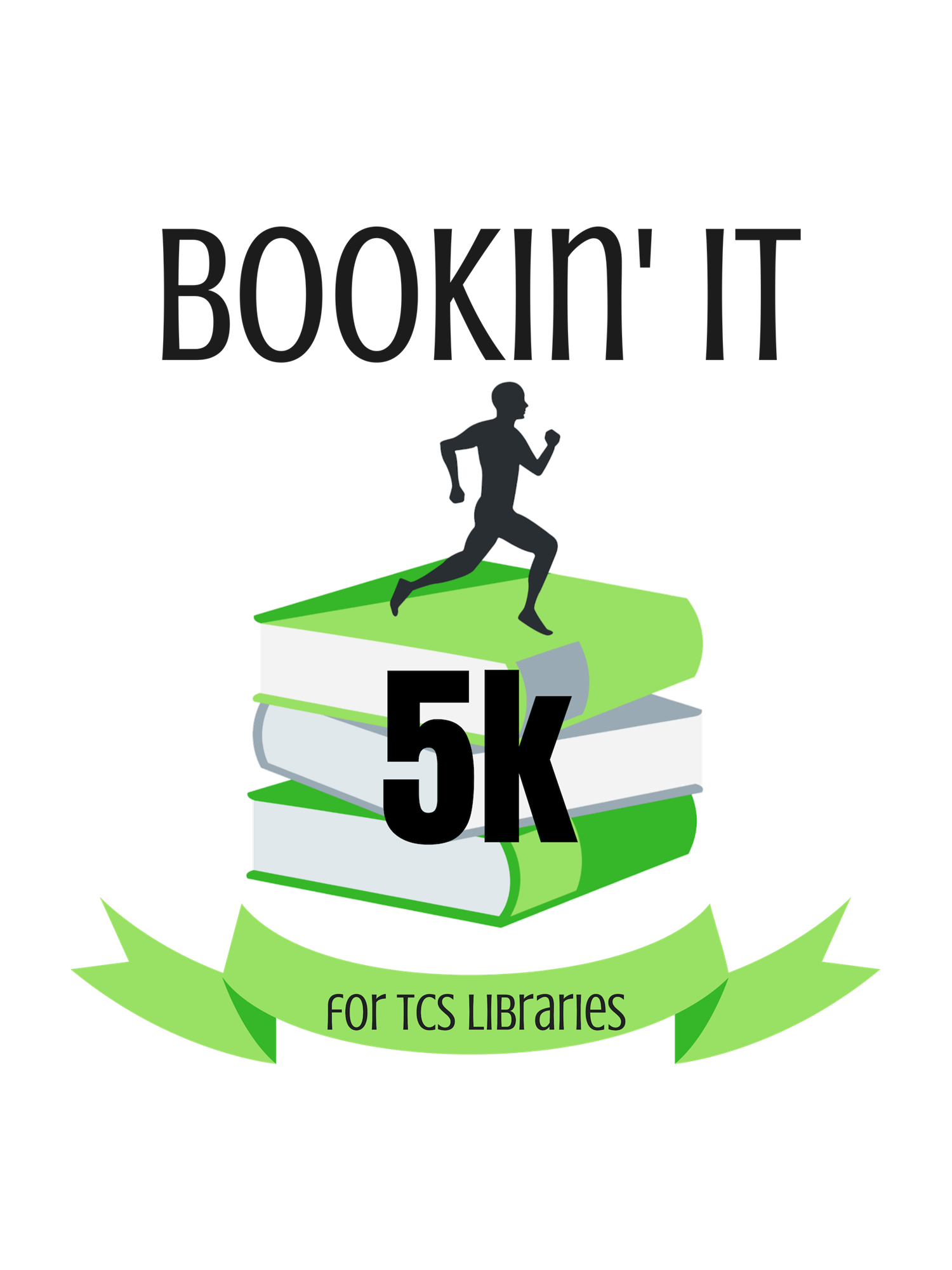 Bookin It 5k logo