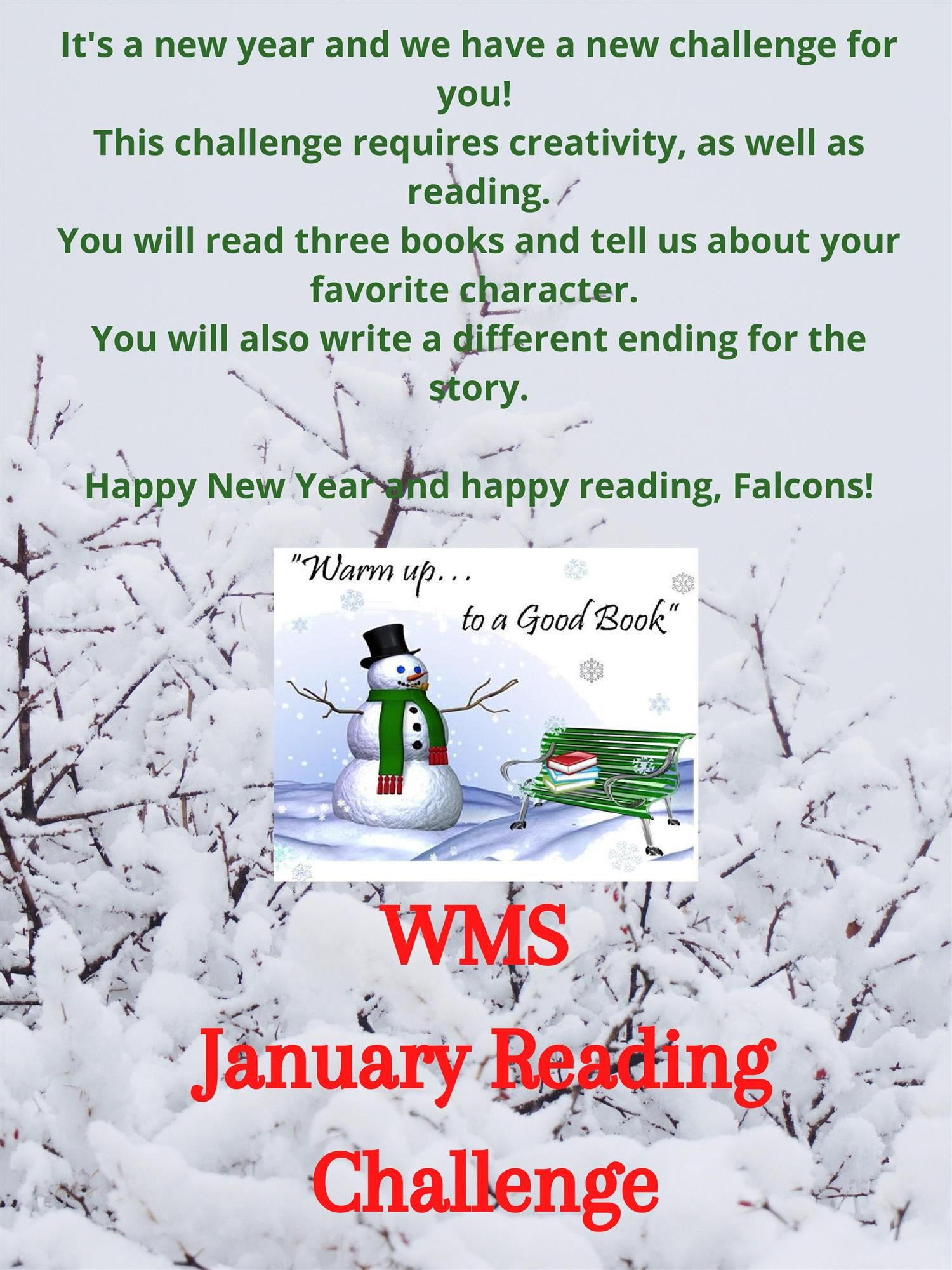 January Reading Challenge