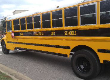TCS school bus
