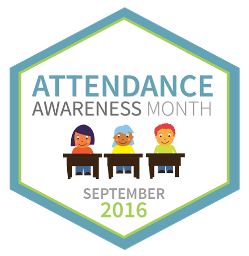 Attendance Awareness Month Logo