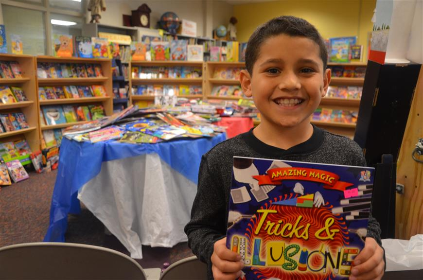 Schools Host Book Fairs