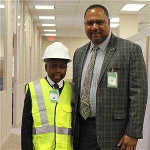 Job Shadowing at the Central Office