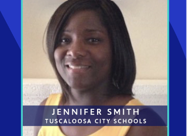 University Place Elementary teacher Jennifer Smith