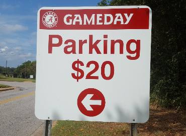 Two TCS Campuses to Offer Parking for UA Football Games