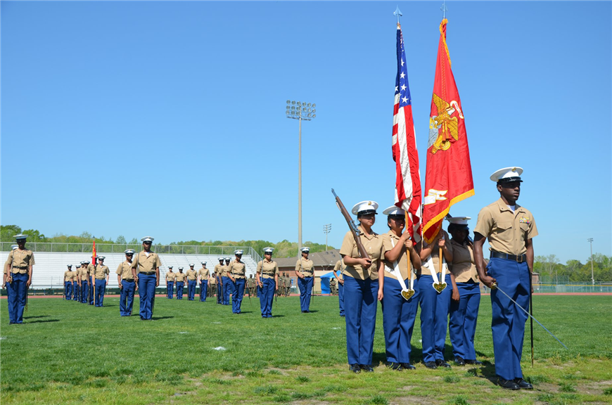 Tradition of Excellence Continues for PWBHS MCJROTC