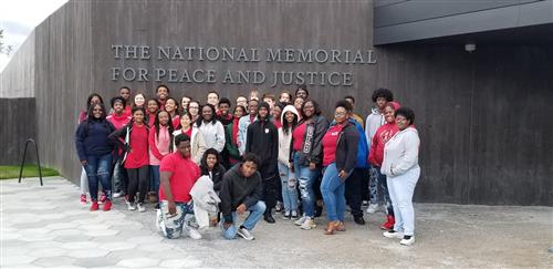 CHS Students on the Civil Rights Tour