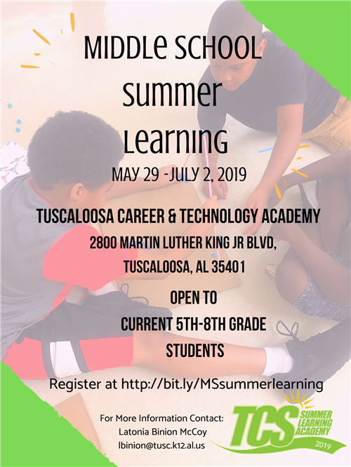 Summer Learning (more in post)