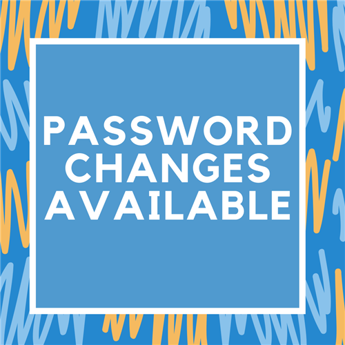 Password Changes Available