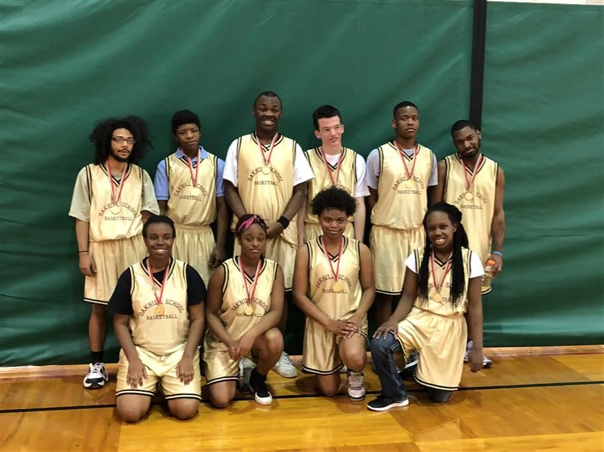 Mustangs Win Special Olympics Alabama State Basketball Championship