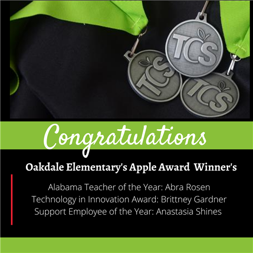 OES Apple Award Winner's