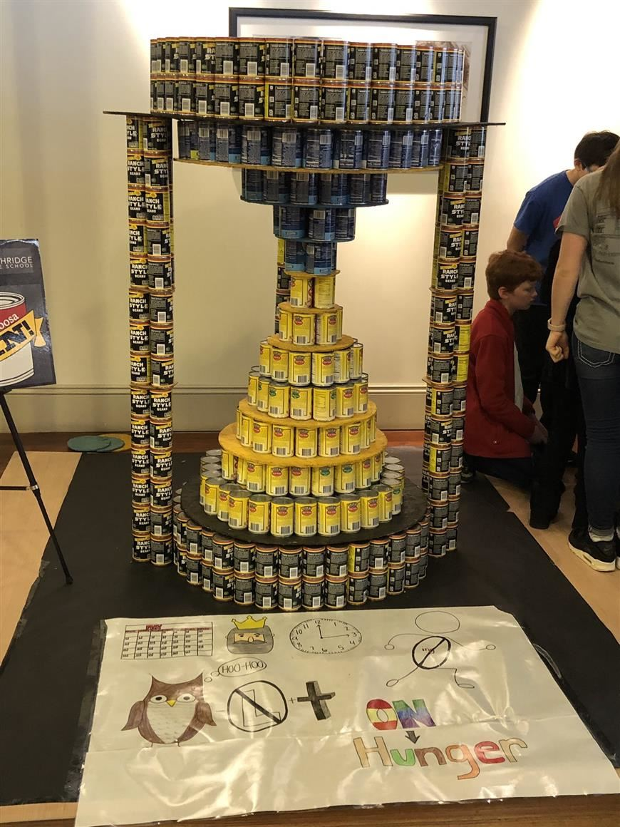 NMS Canstruction
