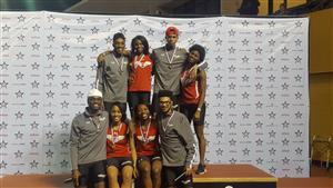 2017 Boys and Girls Indoor 4x400m State Champions