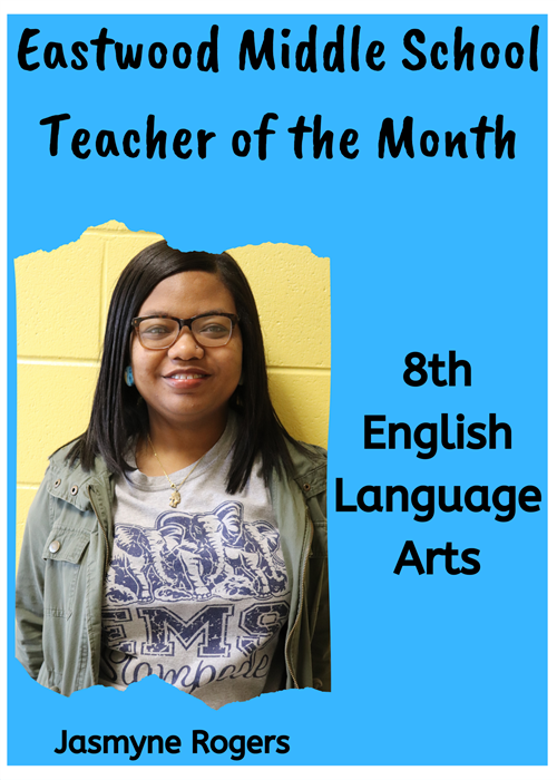 EMS Teacher of the Month-Rogers